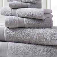 Groupon.com deals on 100% Cotton Oversized Ring-Spun Towel Set (6-Piece)