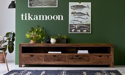 Paga 50 € o 100 € y obtén un descuento de 100 € o 200 € en la tienda online de Tikamoon