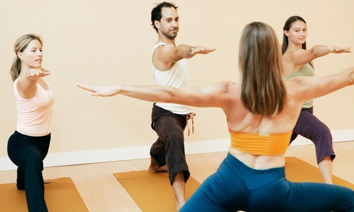 Methuen Yoga Mat Plus - Methuen Town: Five Yoga or Zumba Classes from Methuen YogaMat Plus & Tea Room (55% Off)