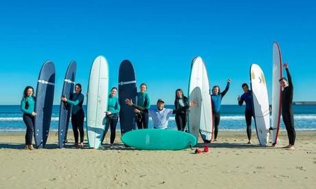Curso de iniciación al surf para 2 o 4 personas desde 29,90 € en Suplife Valencia Oferta en Groupon