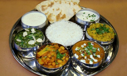 Nepalese and Indian Food for Dine-In or Takeout at Taste of Himalayas (Up to 40% Off). Three Options Available.