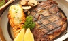 Texas Steak Out - Multiple Locations: 20% Cash Back at Texas Steak Out