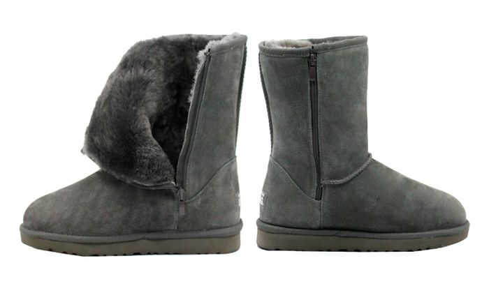 db1279b6647 Up To 74% Off Mid Zip-Up Water-Resistant UGG | Groupon