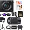 Sony Alpha a6000 24.3MP Interchangeable-Lens Camera Bundle