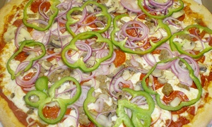 Pizza, Pasta, And Salads At Ninoss Pizzeria Restaurant (up To 47% Off). Two Options Available.