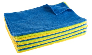 Microfiber Cloth Cleaning Towel Set (12-, 24-, or 48-Piece)