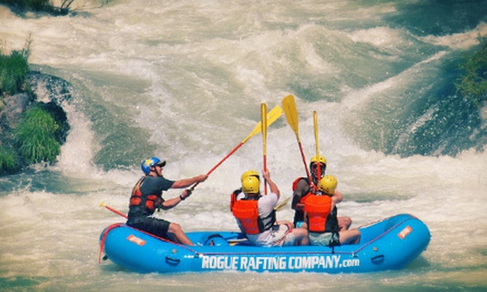 Rogue Rafting Co. - Medford: Half-Day Rafting Adventure on the Rogue River for Two or Four from Rogue Rafting Co. (Up to 53% Off)