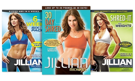 Jillian Michaels Workout DVD 9125ab74-ee16-11e6-b966-00259069d868
