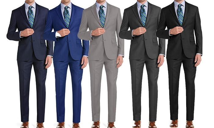 Uomo Men's Classic Fit Suits (2-Piece)