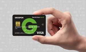 Quirky Deals: Llévate la nueva tarjeta de crédito Groupon con bankintercard