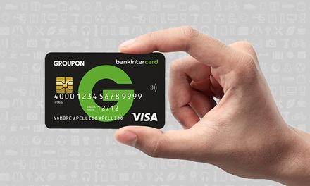 Llévate la nueva tarjeta de crédito Groupon con bankintercard