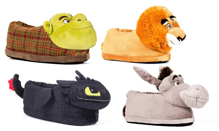 new lifestyle look good shoes sale buying new Up To 12% Off on Dreamworks Happy Feet Slippers | Groupon Goods