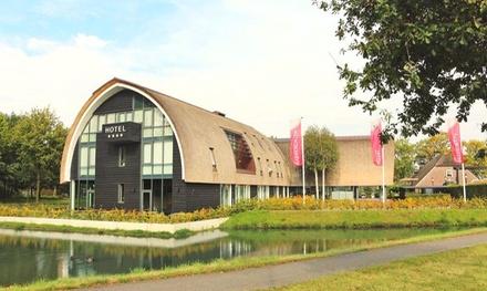 Nabij de Veluwe: comfort of superior tweepersoonskamer incl. toegang sauna en ontbijt in luxe 4* Hotel De Roode Schuur