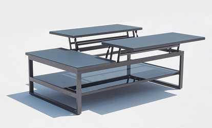 ensembles de meubles pour terrasses et jardins deals et coupons groupon. Black Bedroom Furniture Sets. Home Design Ideas