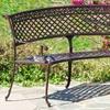 Bainbridge Outdoor Copper Finish Bench
