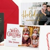 Up to 90% Off Personalized Flat Holiday Cards from Printerpix