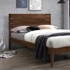 Baxton Studio Elmdon Slatted Headboard Platform Bed