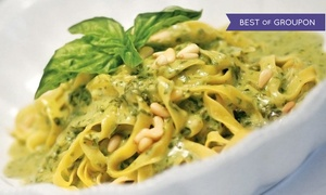 Cicciotti's Trattoria Italiana & Seafood: Italian Cuisine at Cicciotti's Trattoria Italiana & Seafood (Up to 47% Off). Two Options Available.