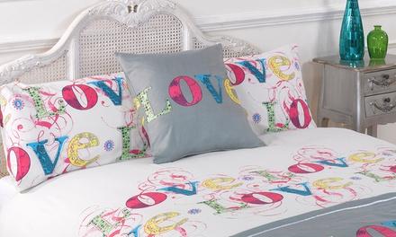 5-Piece Contemporary Duvet Set | Groupon Goods