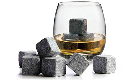 NinePiece Whisky Stones Set
