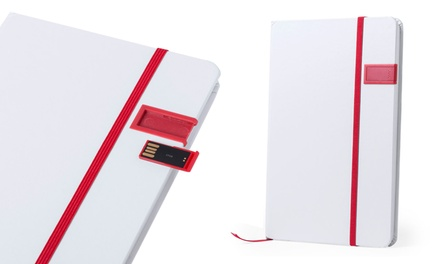 Notepad with Integrated Memory