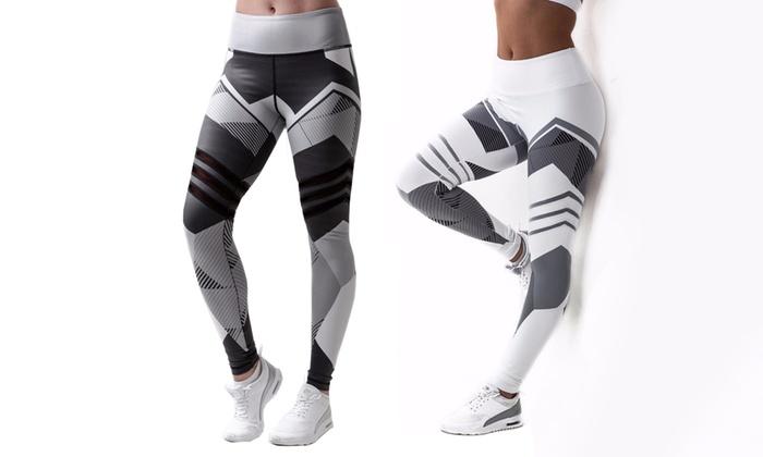 bis zu 50 damen sport leggings groupon. Black Bedroom Furniture Sets. Home Design Ideas