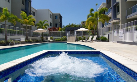 Gold Coast: 2 or 3 Nights for Two or Four People with Wine and Late CheckOut at Splendido Resort