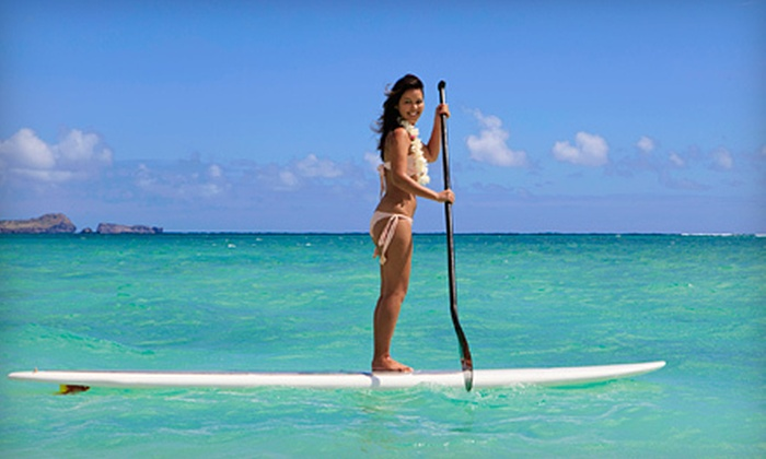 American Watersports - Pompano Beach: One- or Two-Hour Rental of a Standup Paddleboard from American Watersports in Pompano Beach (Up to 56% Off)