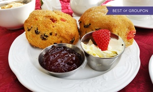 Stoneleigh Abbey: Festive Afternoon Tea for Two with Optional Mulled Wine and Entry to the Grounds at Stoneleigh Abbey (Up to 52% Off)
