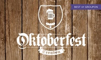 Oktoberfest Croydon, 27 - 28 October at The Level