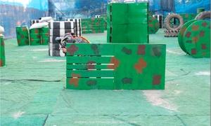 Rio Sport Center: 1 ou 2 horas de paintball com equipamento incluso e bolinhas na Paintball Rio Sport – Barra da Tijuca
