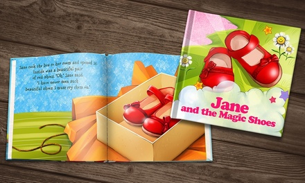 Soft or Hardcover Personalised Children's Storybook from Dinkleboo (Up to 73% Off)