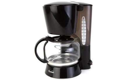 Cafetera de goteo Comelec para hasta 12 tazas de café