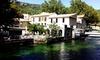 Fontaine-de-Vaucluse : chambre Confort, Supérieure ou Suite avec pdj
