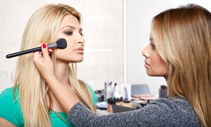 Red and Rouge - Multiple Locations: Three-Hour Hands On Makeup Class w/ Option for Facial Wax or Two MAC Brushes from Red and Rouge (Up to 62% Off)