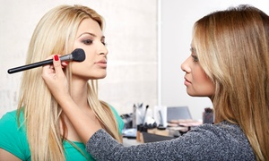 Red and Rouge: Three-Hour Hands On Makeup Class w/ Option for Facial Wax or Two MAC Brushes from Red and Rouge (Up to 62% Off)