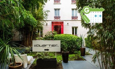Parijs: Comfort tweepersoonskamer voor twee, naar keuze met ontbijt en een glas wijn in Hotel Le Quartier Bercy Square