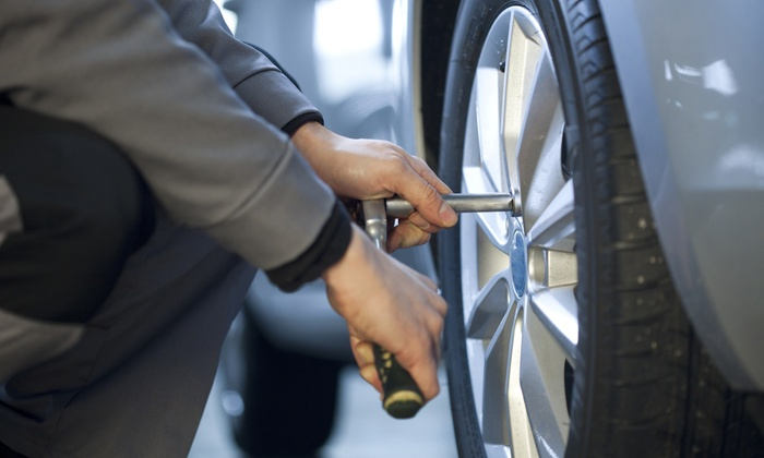 Fletcher's Tire & Auto Service - Multiple Locations: $59 for Wheel Alignment & Tire Care Package at Fletcher's Tire & Auto Service ($109.85 Value)