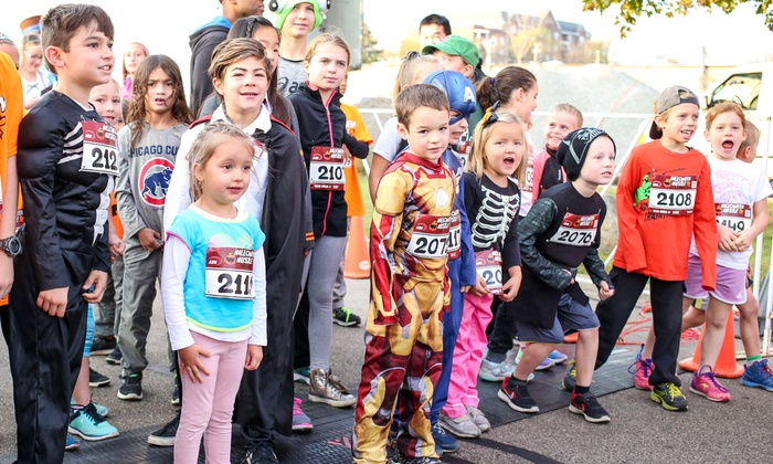 up to 42 off registration to halloween hustle