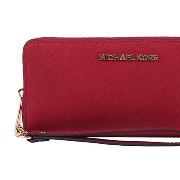 f302625ecd30 Up To 39% Off Michael Kors Leather Wristlet/Wallet | Groupon