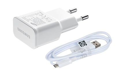Uno o 2 cavi micro USB 5 pin e caricatori originali Samsung in colore bianco o nero da 4,99 € (fino a 82% di sconto)