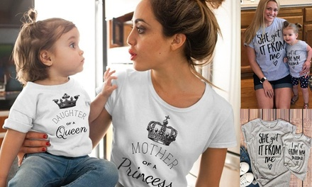 $19.95 for a Mother and Daughter TShirt Set