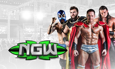 One, Two or Family of Four Ticket to New Generation Wrestling, 2 May 12 December, Hull