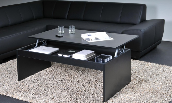 table basse weber industries groupon. Black Bedroom Furniture Sets. Home Design Ideas