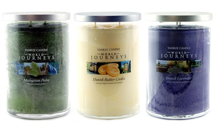 Yankee Candle World Journeys Twin Wick Pillar