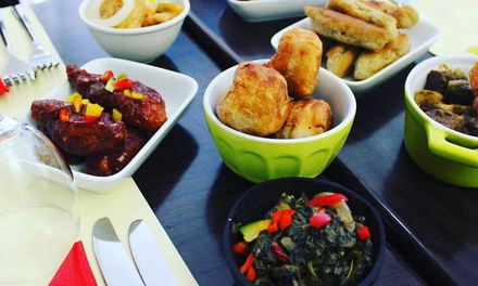 Caribbean Tapas for Up to Four at Caribé Restaurant and Bar
