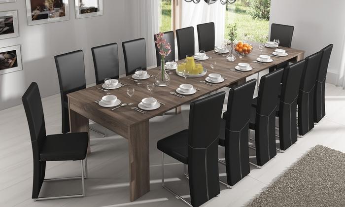 console extensible livraison offerte groupon shopping. Black Bedroom Furniture Sets. Home Design Ideas