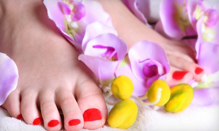 Polish Couture - Melrose: One or Three Pedicures at Polish Couture (Up to 57% Off)