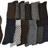 Men's Classic Patterned Dress Socks (6-Pack)