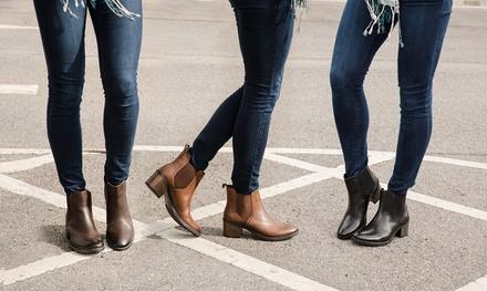 Redfoot Damen Ankle Boots in Braun, Hellbraun oder Schwarz